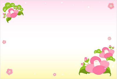 年賀状桜屋の背景イラスト2