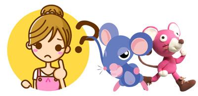 ミッキーやミニー以外のとらキャラクターをみてみましょう。
