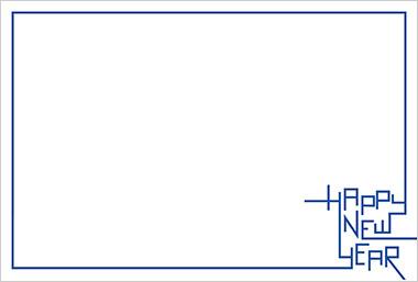英字のフレーム枠