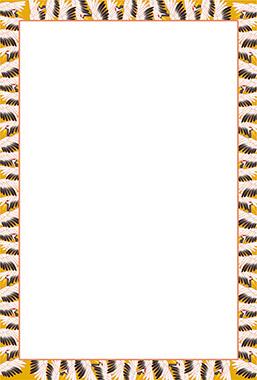 鶴のイラスト背景