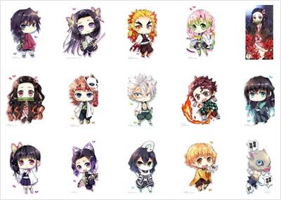 鬼滅の刃キャラクター全15種